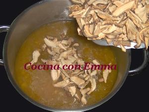 Sopa de shiitake y sabor a mar_8