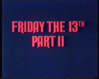 friday 13th vhs