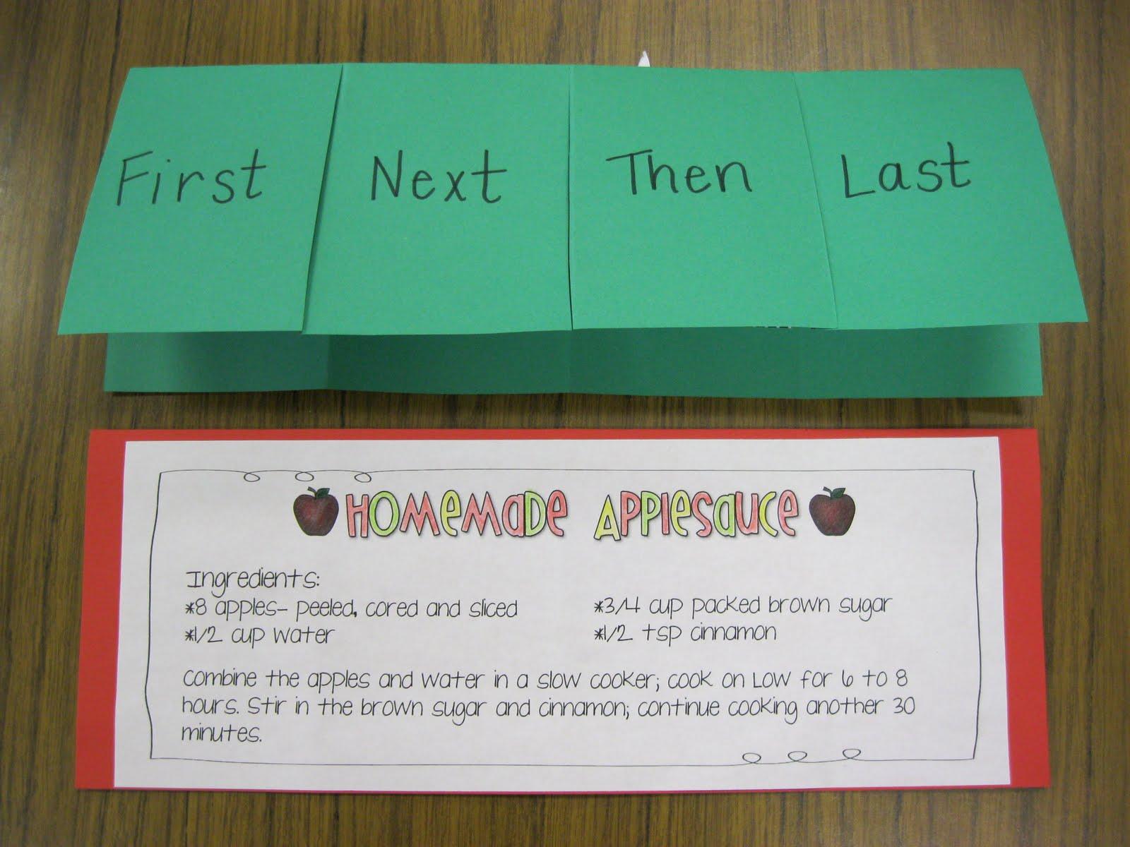 First Grade Fanatics A Week Of Apples