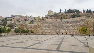 The roman theather has capacity of 6000 people