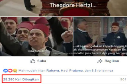 Masyaallah, Menangis Menontonnya, Video Sejarah Khilafah Dalam Melindungi Palestina dan Aceh Sudah Ditonton 1,1 Juta Kali