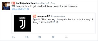 Komen terhadap Logo Baru Juventus 2017