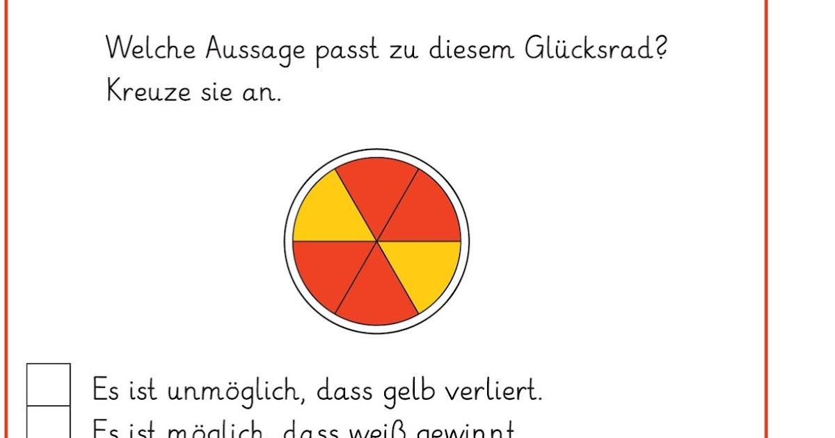 Erfreut Mathe Arbeitsblatt Wahrscheinlichkeit Bilder - Gemischte ...