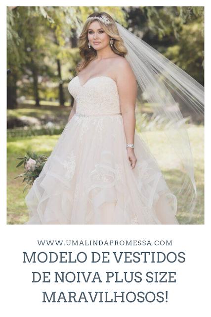 modelos de vestidos de noiva plus size