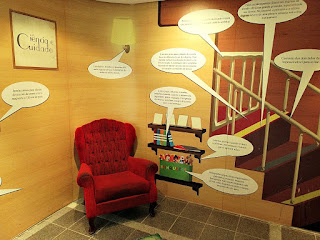 Sala de Estar e Escada (Museu de Ciência e Tecnologia da PUCRS)