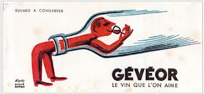 Buvard publicitaire (collection musée)