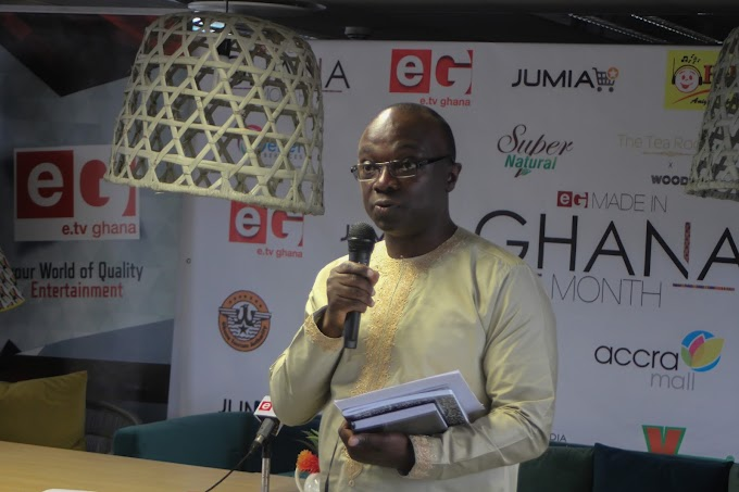 Photos: e.TV Ghana Launches Made in Ghana Month