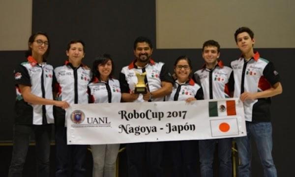 Mexicanos ganan bicampeonato de robótica en Nagoya, Japón.