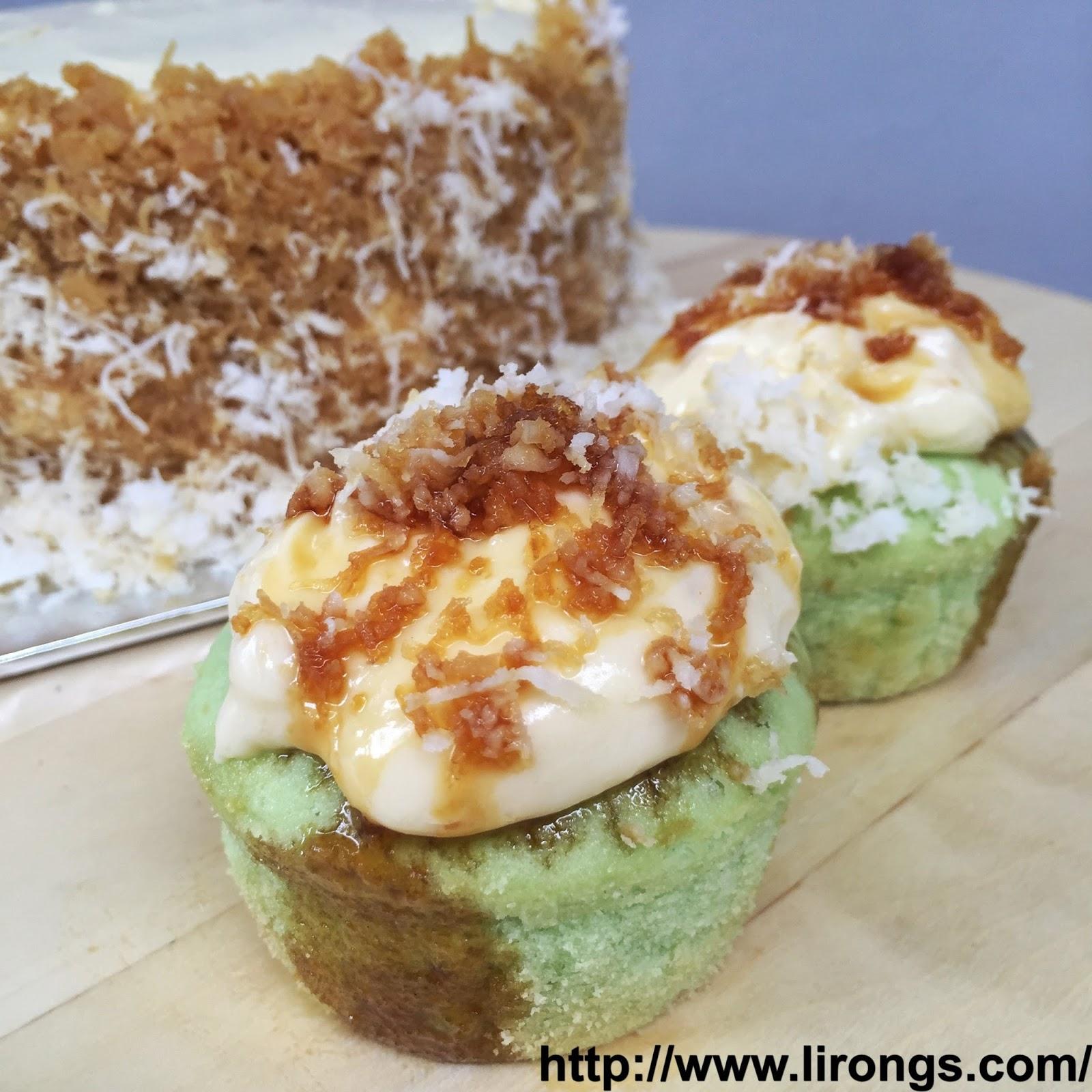Lirong a singapore food and lifestyle blog recipe pandan gula recipe pandan gula melaka cake ondeh ondeh cupcakes forumfinder Choice Image