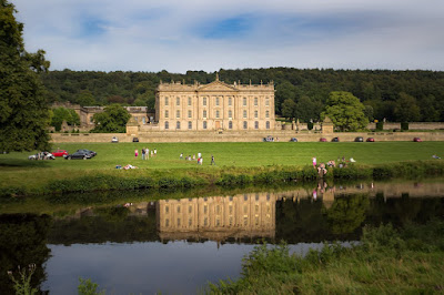 Chatsworth House by Laurence Norah