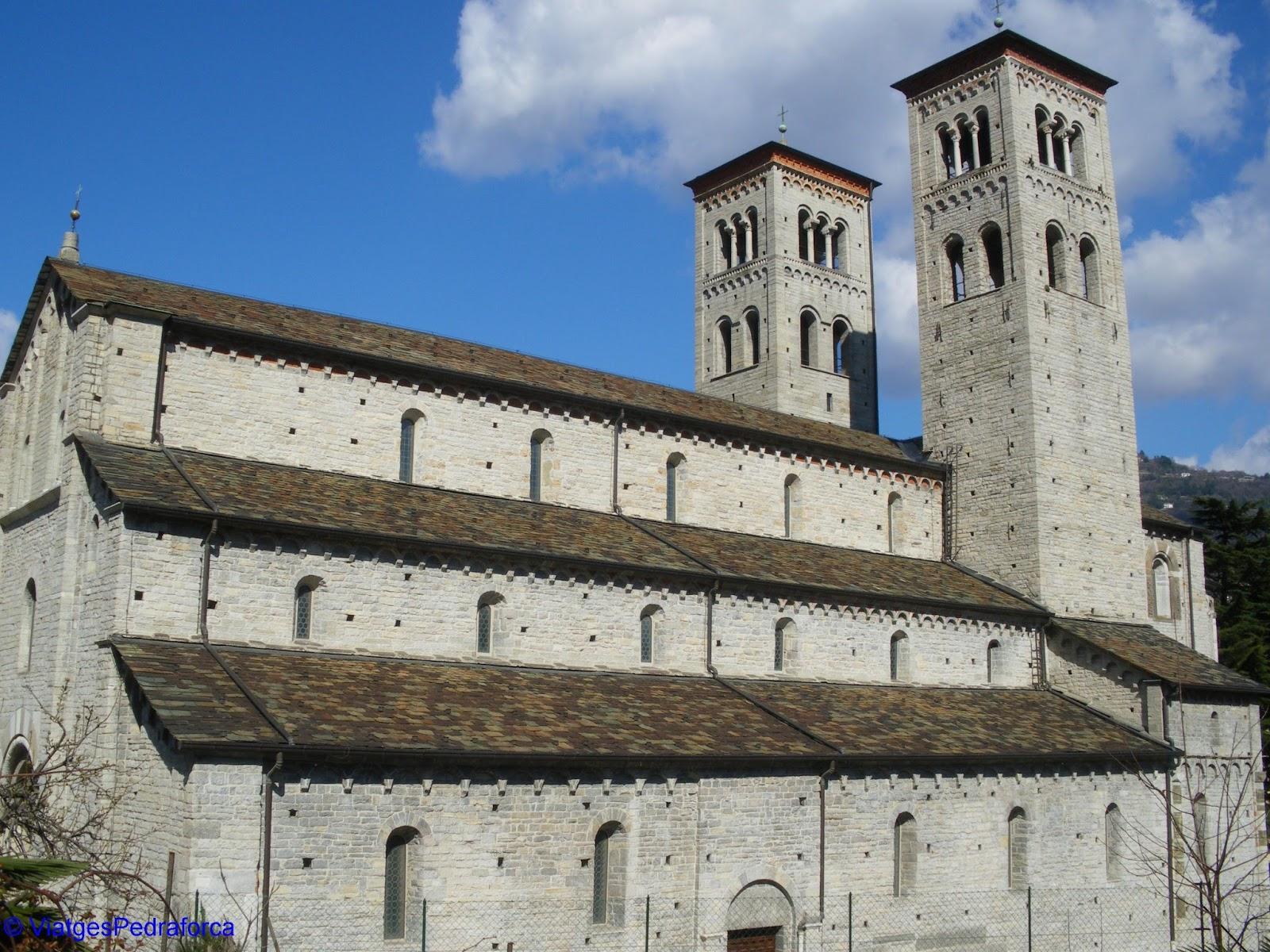 Sant'Abbondio, Como, Llombardia, Itàlia, Romànic llombard