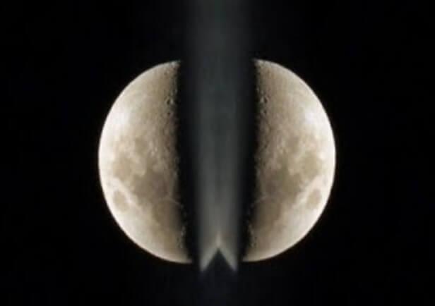 Misteri Bulan Terbelah Dua!