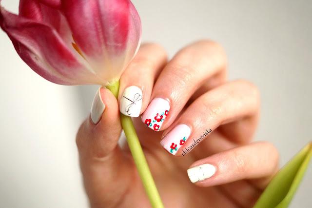 Nailstorming 203 c 39 est le printemps chicas de revista blog mode bordeaux - Nail art printemps ...
