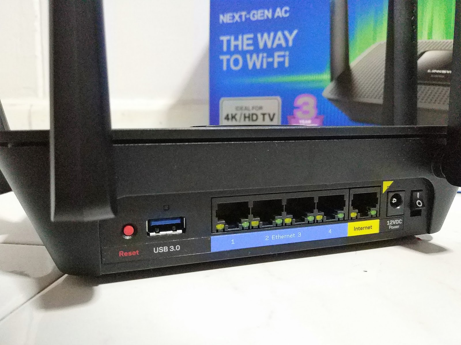 Review of the Linksys Max-Stream AC2200 Tri-Band Router - The Tech ...