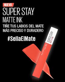 Prueba el labial SuperStay Matte Ink de Maybelline