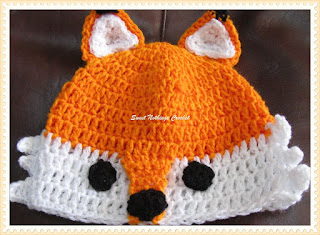 cute animal free crochet cap pattern