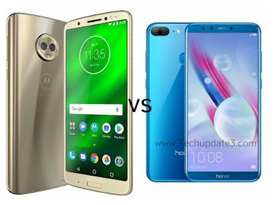 Moto G6 Plus vs Honor 9 Lite