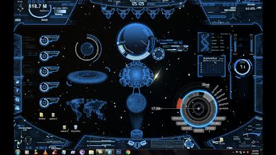 Futuristic Desktop 2016