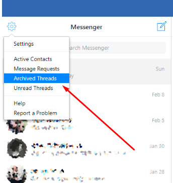 How To Get Archived Messages On Facebook App<br/>