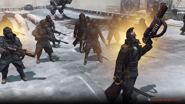 Warhammer 40000 Dawn of War Winter Assault Gameplay Screenshot 2