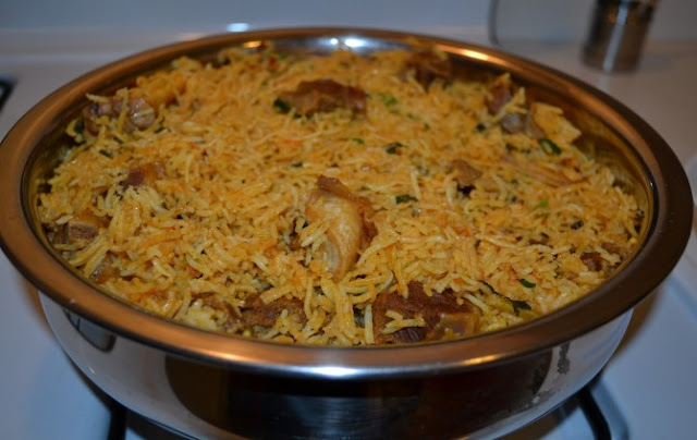 hyderabad mutton biryani recipe