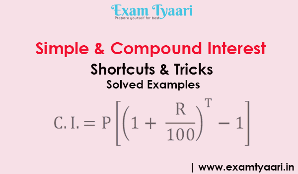 Simple Compound Interest Concept Notes Pdf Exam Tyaari