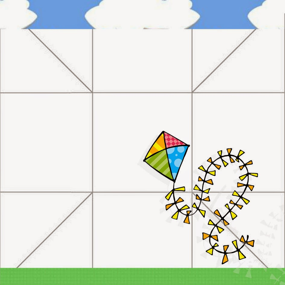 Boy with a Kite Free Printable Party Boxes.