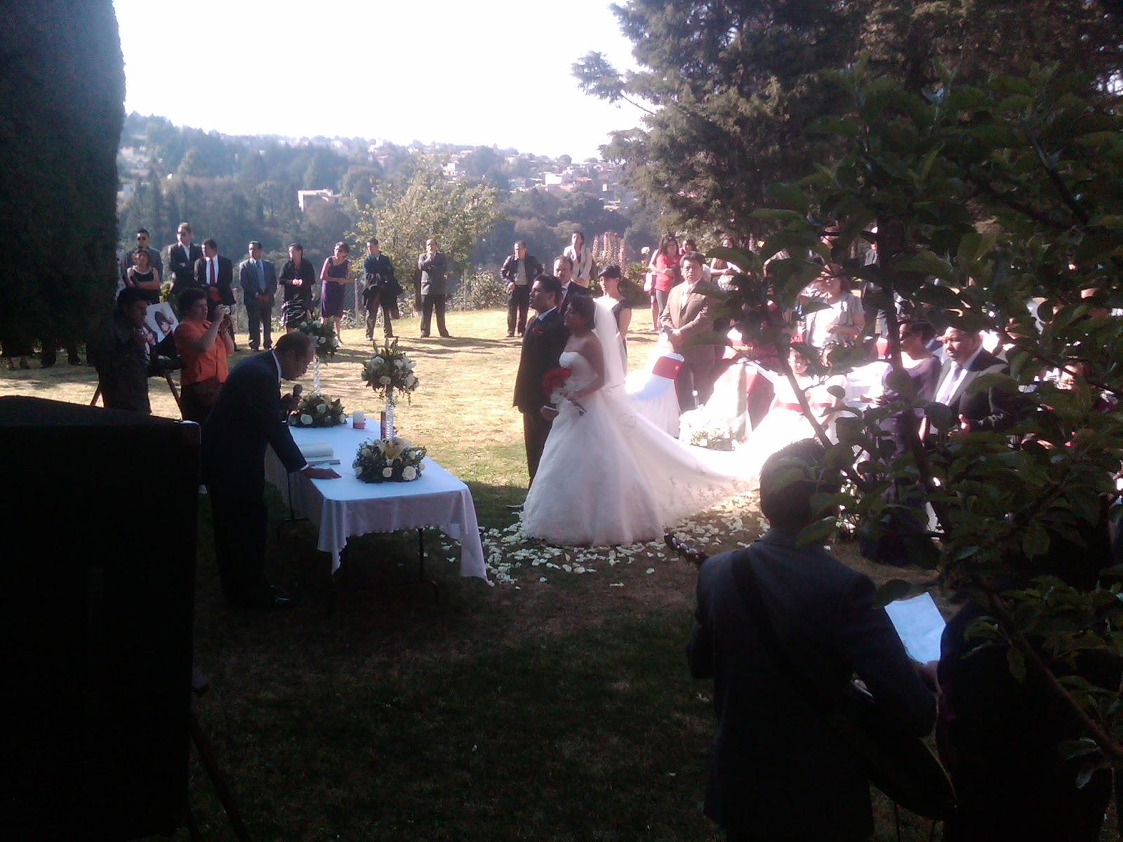 Jardines para eventos en cuajimalpa boda dentro del jard n for Jardines del olimpo