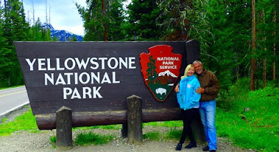 Pat Wayne Dunlap Yellowstone National Park Sign