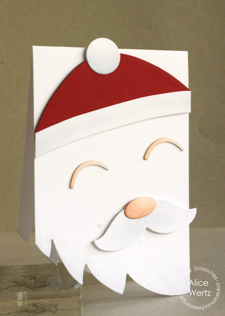 Paper Smooches Santa Card Dies에 대한 이미지 검색결과