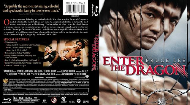 Enter the Dragon Bluray Cover