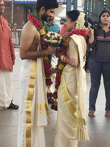 Actor Siddharth Menon Marriage Wedding Photos