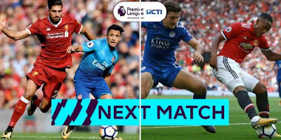 Liverpool vs Arsenal - Leicester City vs Manchester United