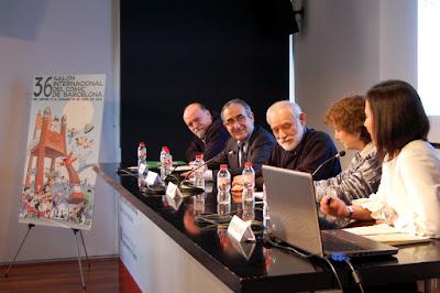 Presentación del 36 Salón Internacional del Cómic de Barcelona