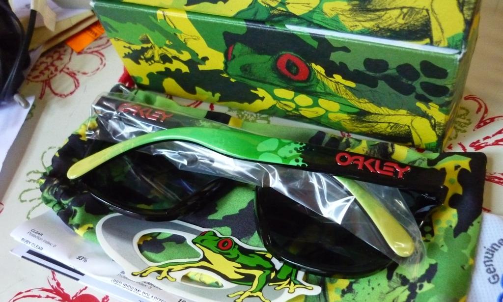 Oakley Frogskin Camo