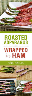 Roasted Asparagus Wrapped in Ham from KalynsKitchen.com