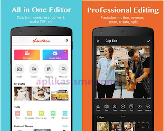 Aplikasi gratis edit video di android video show, Cara edit video di hp