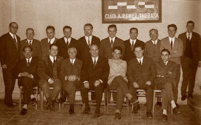 Terrassa Campeón del Campeonato de Catalunya De Ajedrez por Equipos 1969
