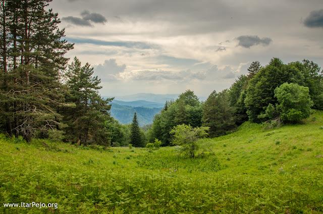 Kravica locality - Mariovo region - Macedonian - Greek border line