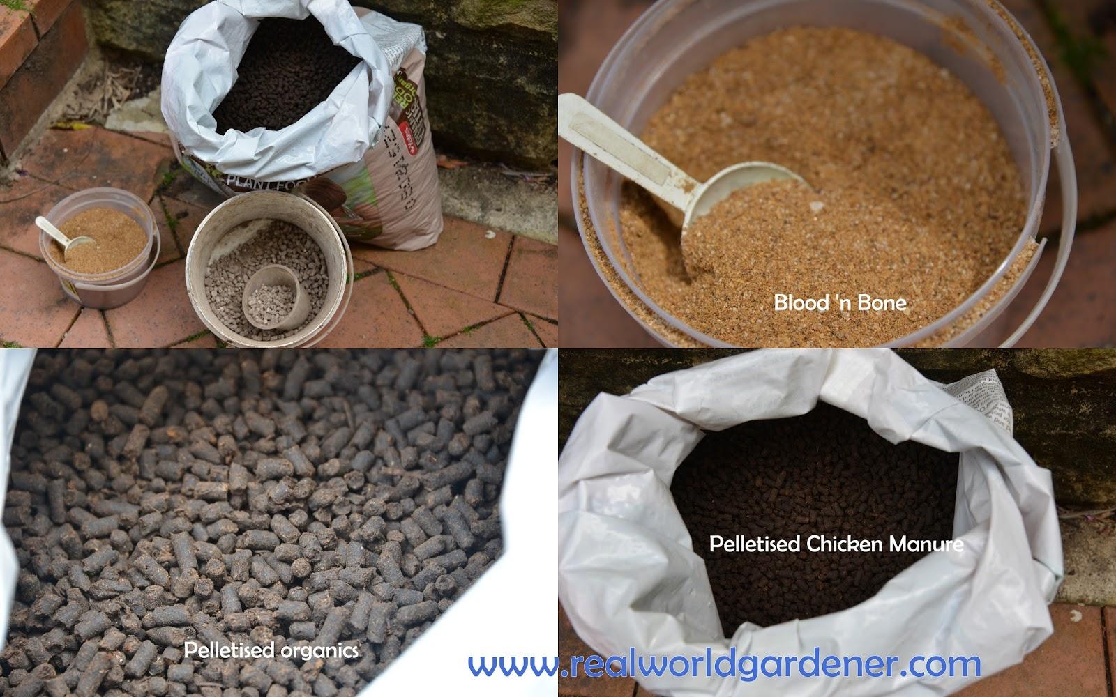 Real world gardener inorganic vs organic fertilisers in for Mineral soil vs organic soil