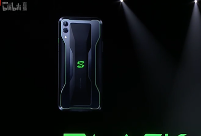 Xiaomi Ka Black Shark 2 Gaming Phone Design