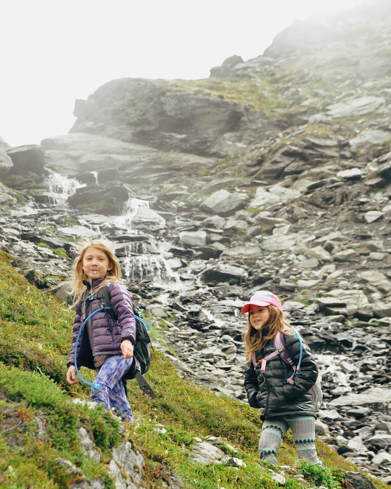 family hike hatcher pass