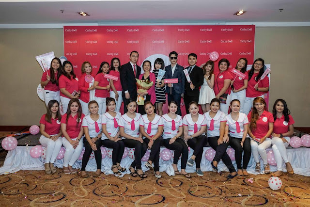 a photo of Cathy Doll Philippines Grand Launch with Lifestrong and Karmart