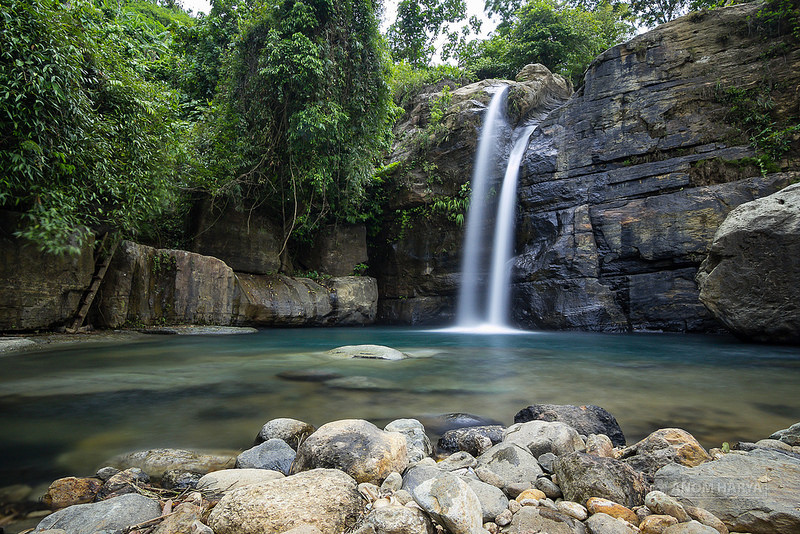 Foto Panorama Air Terjun Coban Tundo