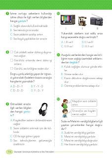 3. Sınıf Matematik Ders Kitabı Cevapları Ada Yayınları Sayfa 115