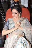 Sri Devi in designer saree stunning beauty at the launch of MOM movie Trailer~  Exclusive 137.JPG