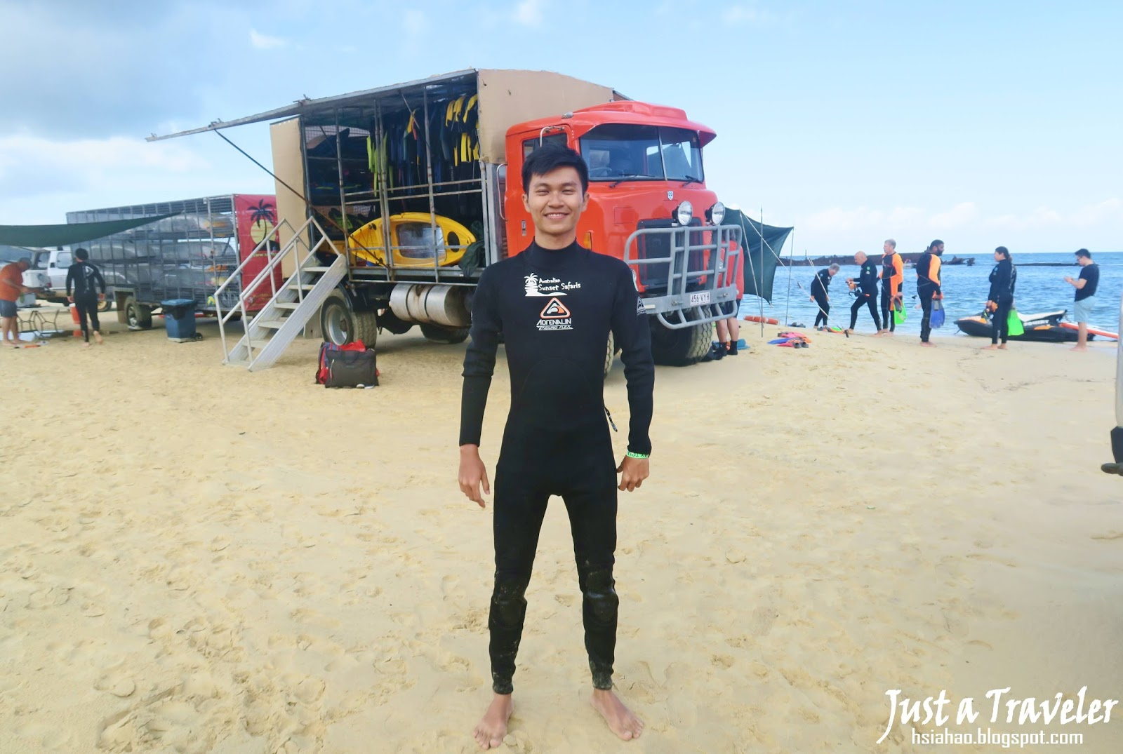 布里斯本-摩頓島-浮潛-Snorkeling-推薦-旅遊-自由行-澳洲-Brisbane-Moreton-Island-Tourist-Attraction-Travel-Australia