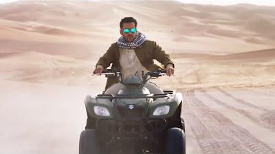 Salman Khan Riding Photo In Tiger Zinda Hai Movie