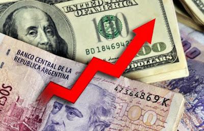 A pesar de que el Banco Central sacrificó mas de u$s 400 millones, el dólar pasó los 21 pesos. Desbande total