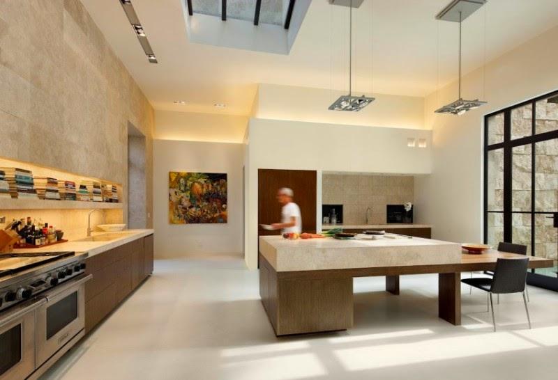hogares frescos casa en bel air revestida con piedra de travertino video